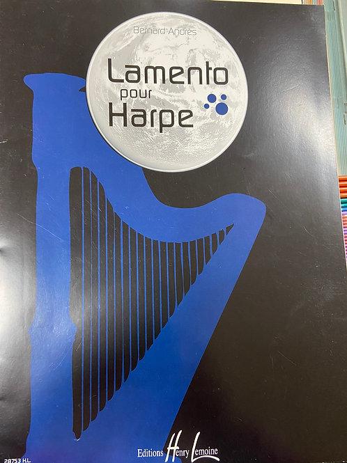 Andres: Lamento Pour Harpe