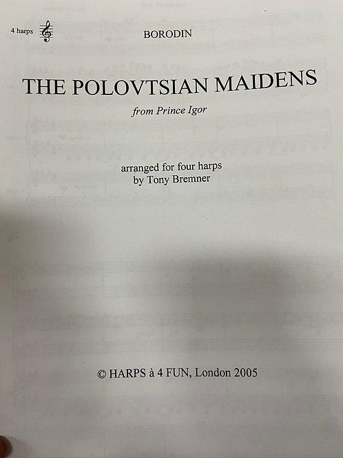 Borodin: Polovtsian Maidens arr. for four harps by Bremner