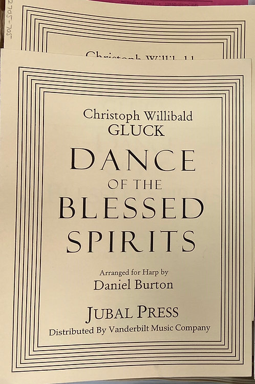 arr. Burton: Dance of the Blessed Spirits