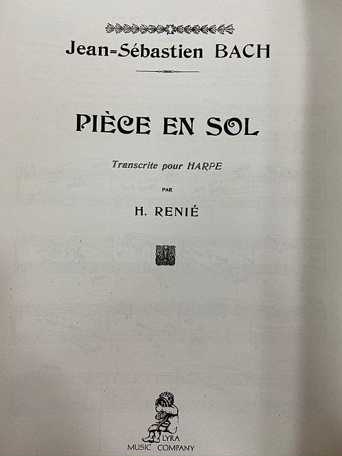 J.S. Bach: Piece en Sol arr. Renie