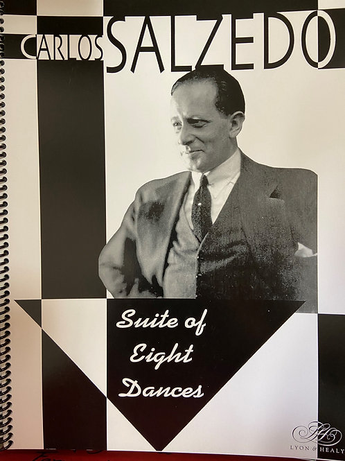 Salzedo: Suite of Eight Dances