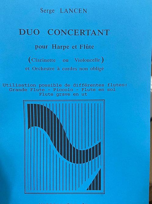 Lancen: Duo Concertant hp & fl