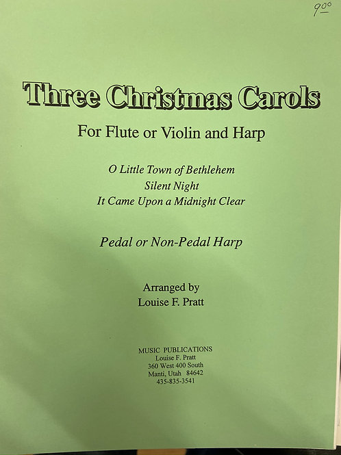 Pratt: Three Christmas Carols