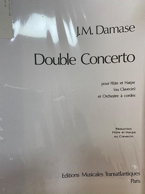 Damase: Double Concerto fl & hp
