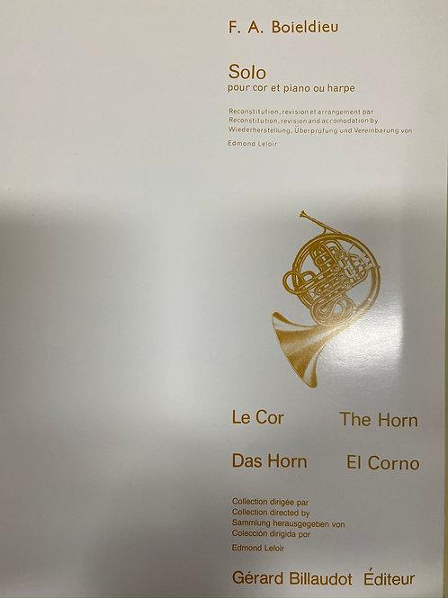 Boieldieu: Solo The Horn