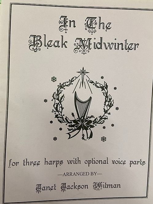 Witmen: In The Bleak Midwinter for three harps and optional voice