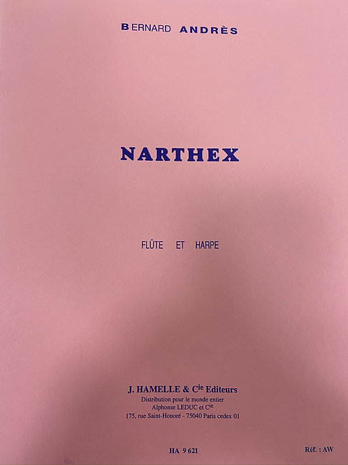 Andres: Narthex for flute and harp
