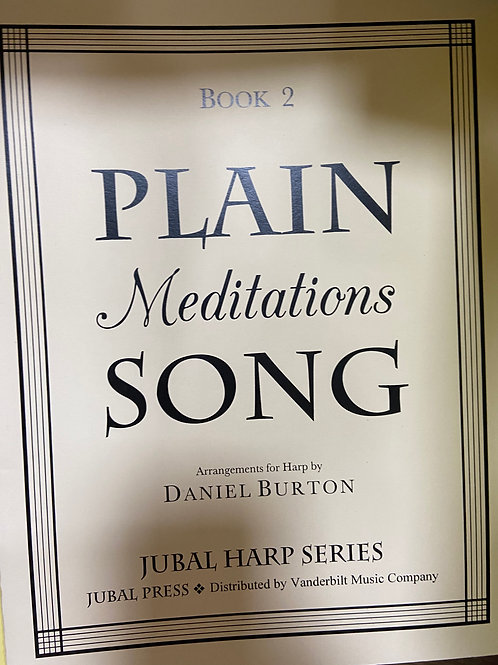 Burton: Plain Meditations Song Bk 2