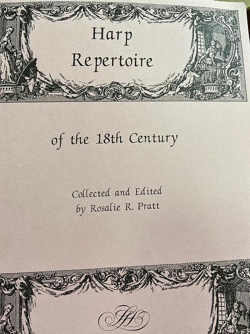 Pratt: Harp Repertoire of the 18th Century