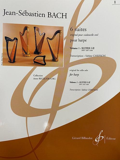 J.S. Bach: 6 Suites Vol.1