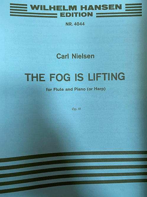 Nielsen: The Fog is Lifting for flute and piano or harp