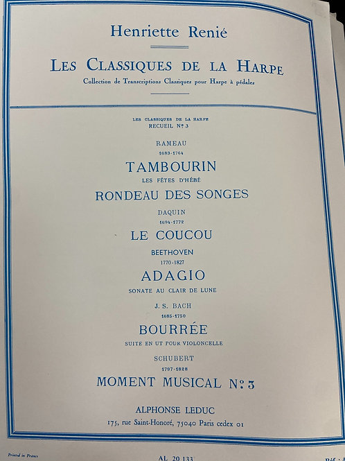 Renie: Classiques De La Harpe #3