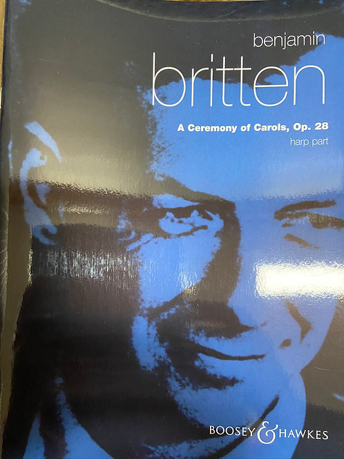Britten: Ceremony of Carols hp pt