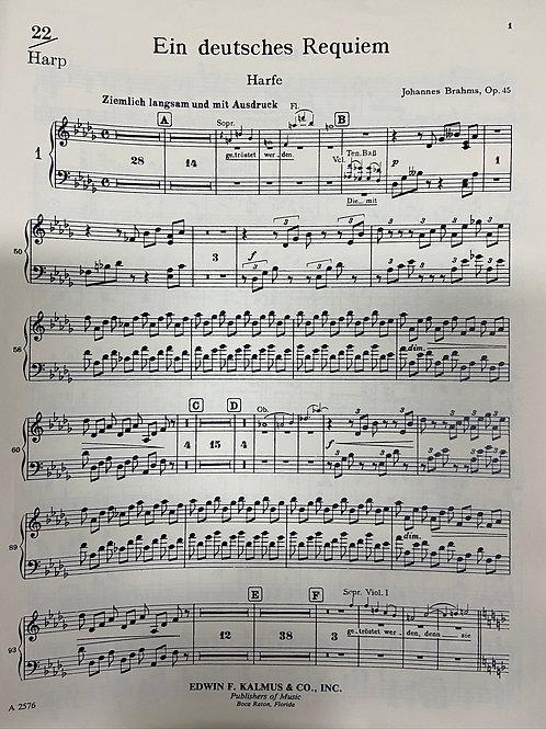 Brahms: Ein Deutsches Requiem hp pt