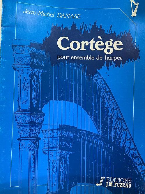 Damase: Cortege for harp ensemble