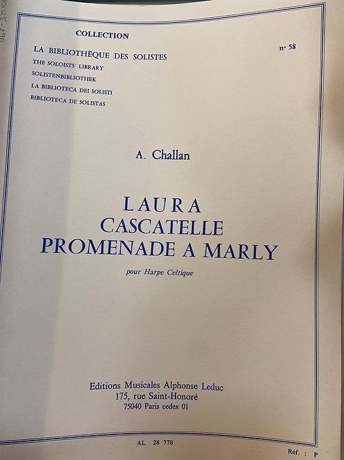 Challan: Laura, Cascatelle, Promenade a Marly