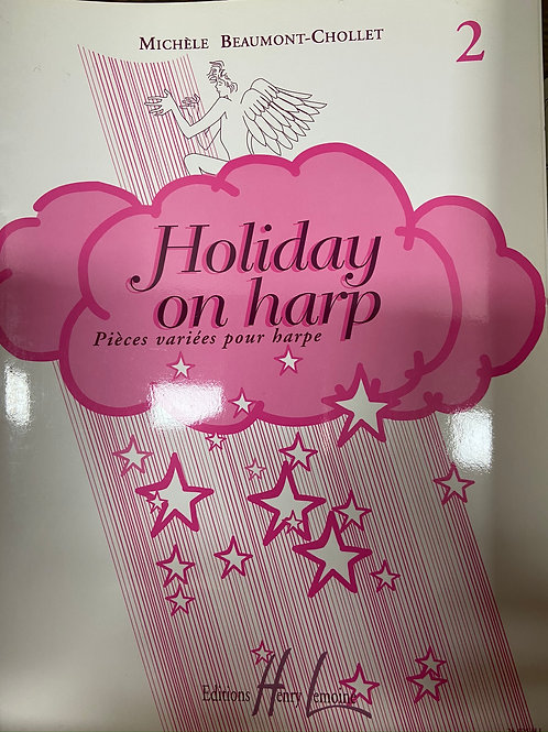 Beaumont-Chollet: Holiday on Harp Vol. 2