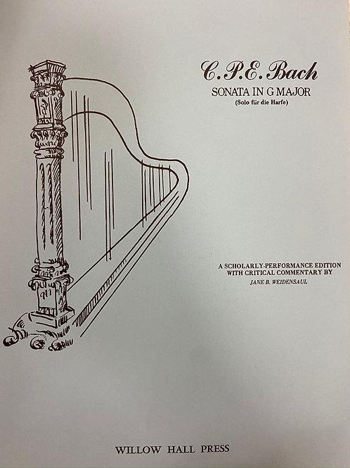 C.P.E.Bach: Sonata in G arr. Weidensaul