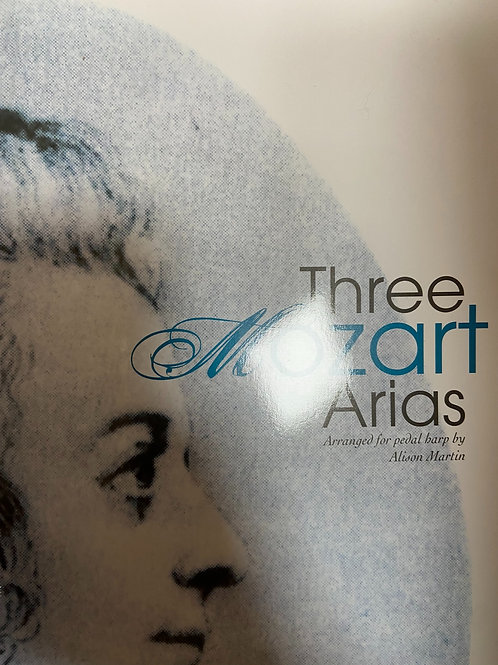 Mozart: Three  Arias arr. Martin