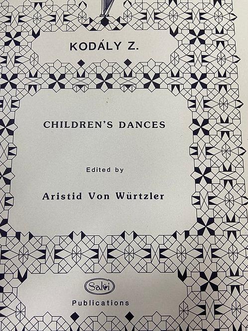 Kodaly: Children's Dances ed. Von Wurtzler