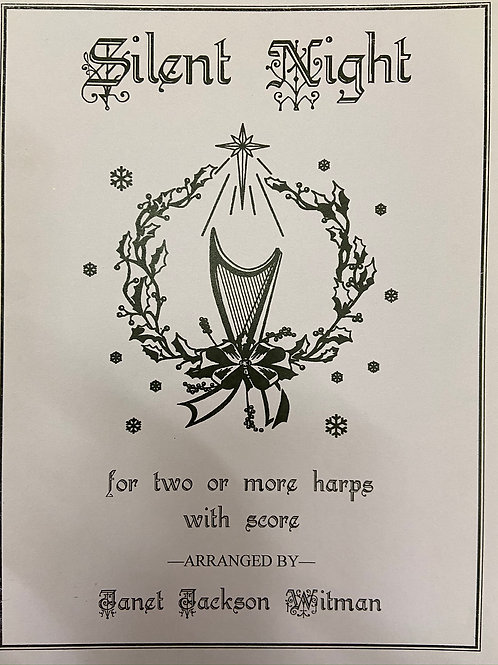 Wilman: Silent Night for two or more harps