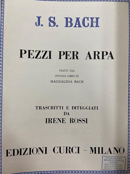 J.S. Bach: Pezzi per Arpa arr. Rossi