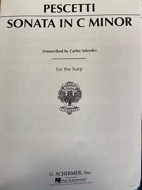 Pescetti: Sonata in C minor arr. Salzedo