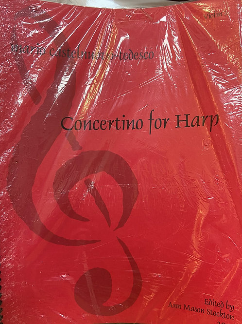 Castlenova-Tedesco: Concertino for Harp (set of parts)