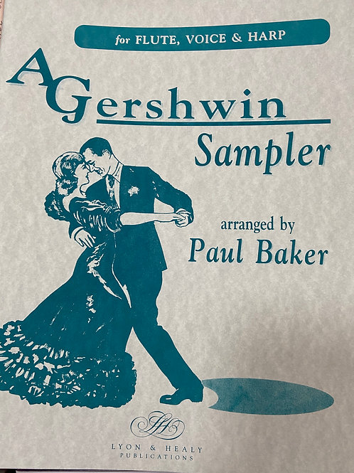 Gershwin: Sampler arr. Baker Flute, Cello and Harp