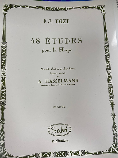 Dizi: 48 Etude for the Harp Book 1
