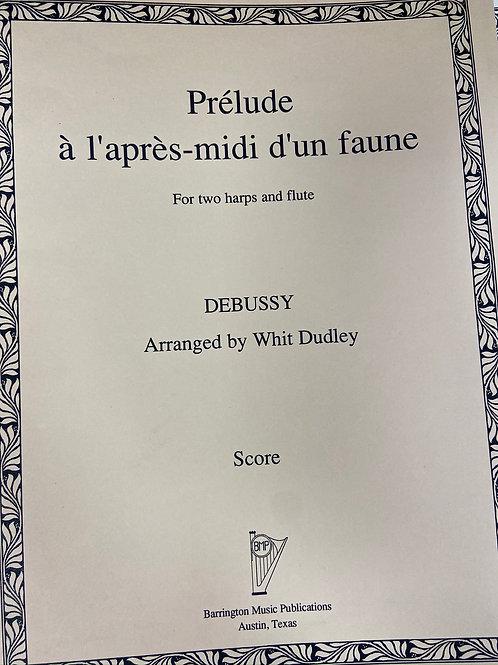 Debussy: La Fille Aux Cheveaux de Lin arr. Dudley for 2 harps and flute