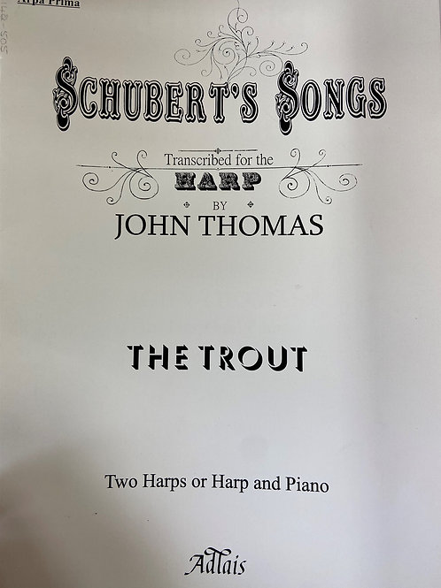Schubert: The Trout arr. Thomas for 2 hps