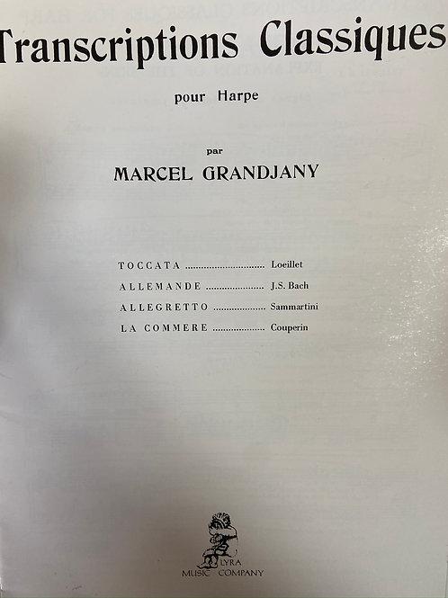 Grandjany: Transcriptions Classiques