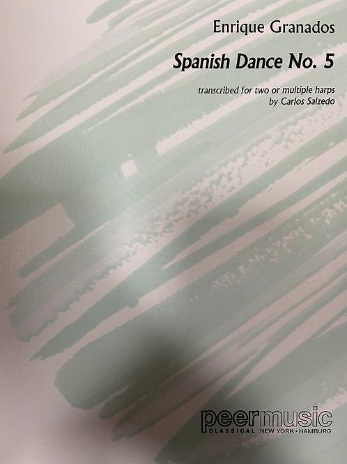 Granados: Spanish Dance no. 5 (arr. Salzedo)