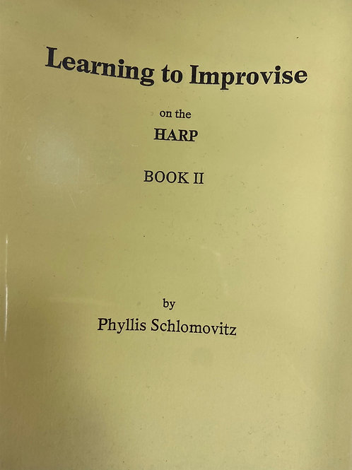 Schlomovitz: Learning to Improvise Book 2