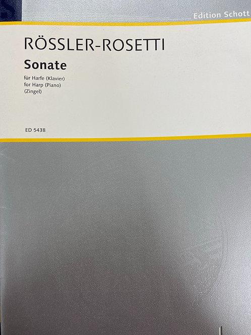 Rossler-Rosetti: Sonata
