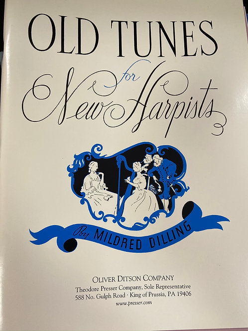 Dilling: Old Tunes for New Harpists