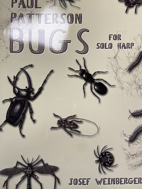 Patterson: Bugs for solo harp