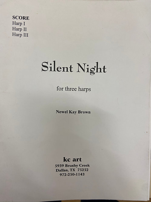Brown: Silent Night for three harps
