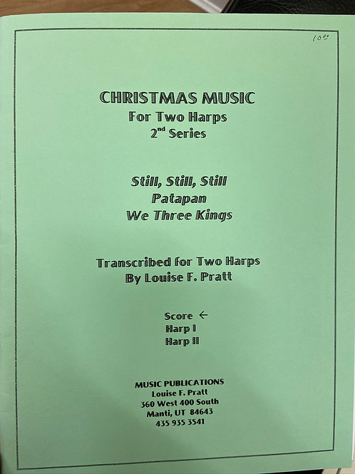 Pratt: Christmas Music for Two Harps 2nd Series