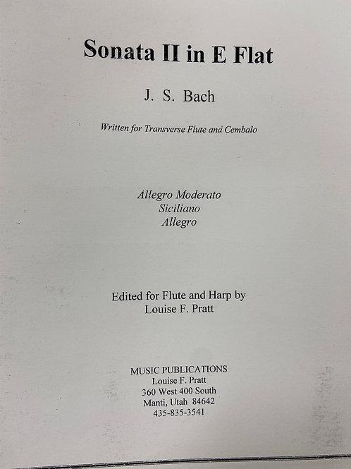 Bach: Sonata II in E Flat arr. Pratt