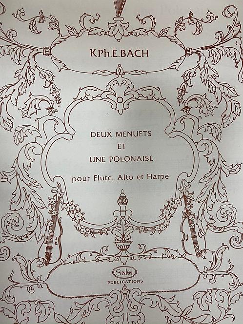 C.P.E. Bach: Deux Menuets et Une Polonaise