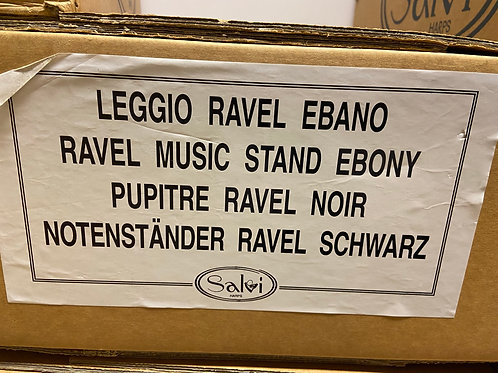 40% off Salvi Ravel music stand - ebony finish