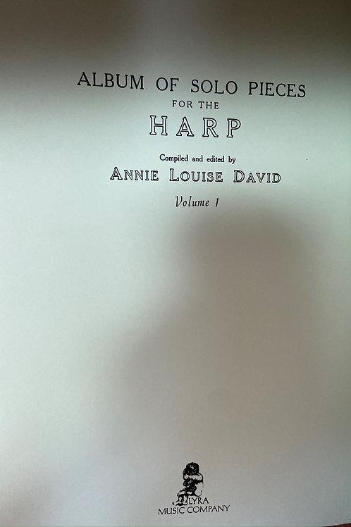 Album of Solo Pieces Vol 1 arr. David
