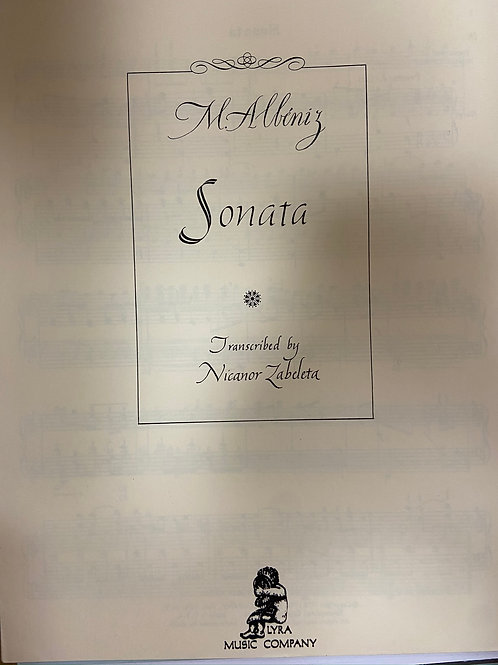 Albeniz: Sonata no.13 arr. Zabaleta
