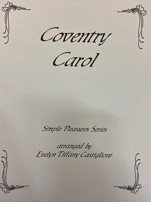 Castiglioni: Coventry Carol