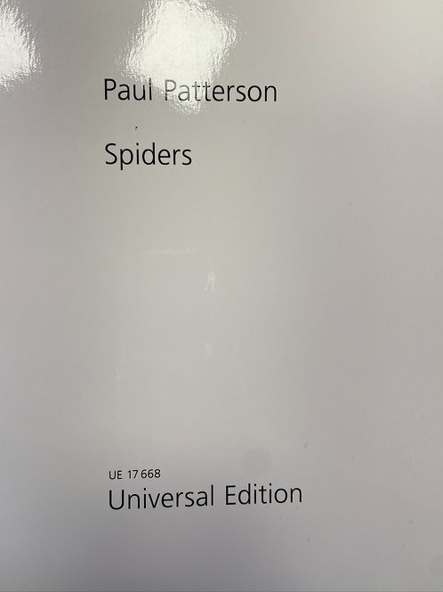 Patterson: Spiders