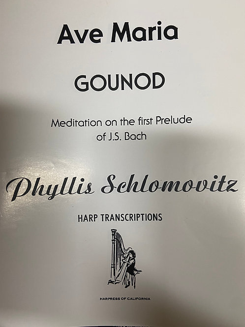 Bach: Meditation on the First Prelude Ave Maria arr. Schlomovitz