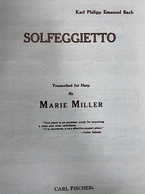 C.P.E.Bach: Solfeggietto arr. Miller