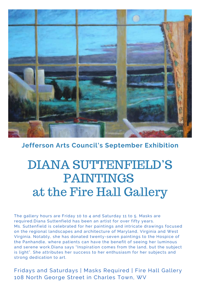 Fire Hall Gallery September Exhibit